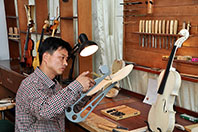 Skilful Violin Maker