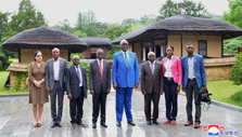 Congolese Government Delegation Visits Mangyongdae