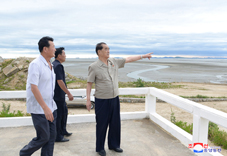 Pak Pong Ju Inspects Various Places in South Hwanghae Province