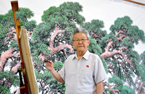 50-year Career as Illustrious Painter